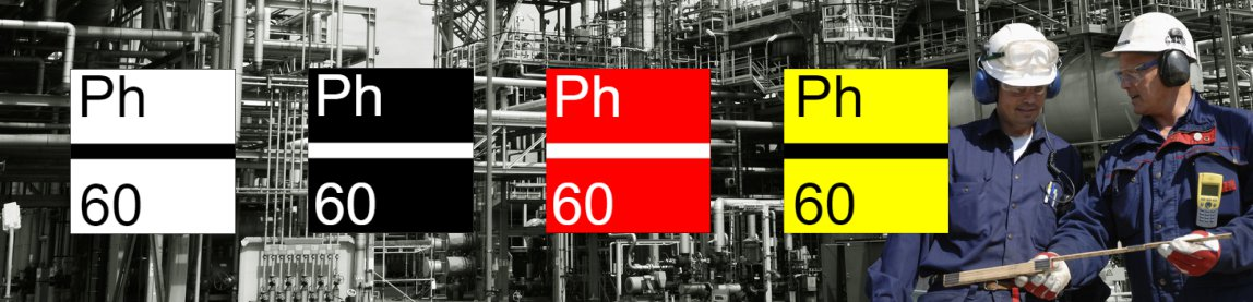 use phenolic labels in harsh environments only